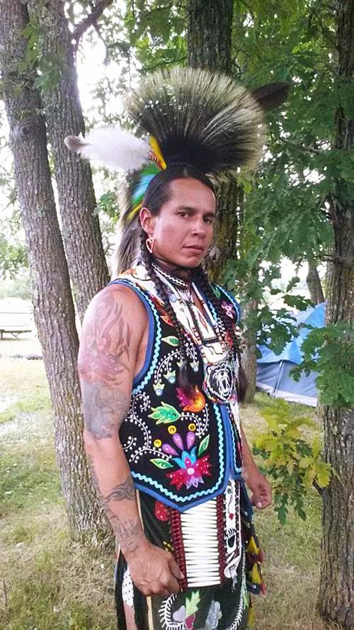 Ojibwe Woodland Man's Vest
