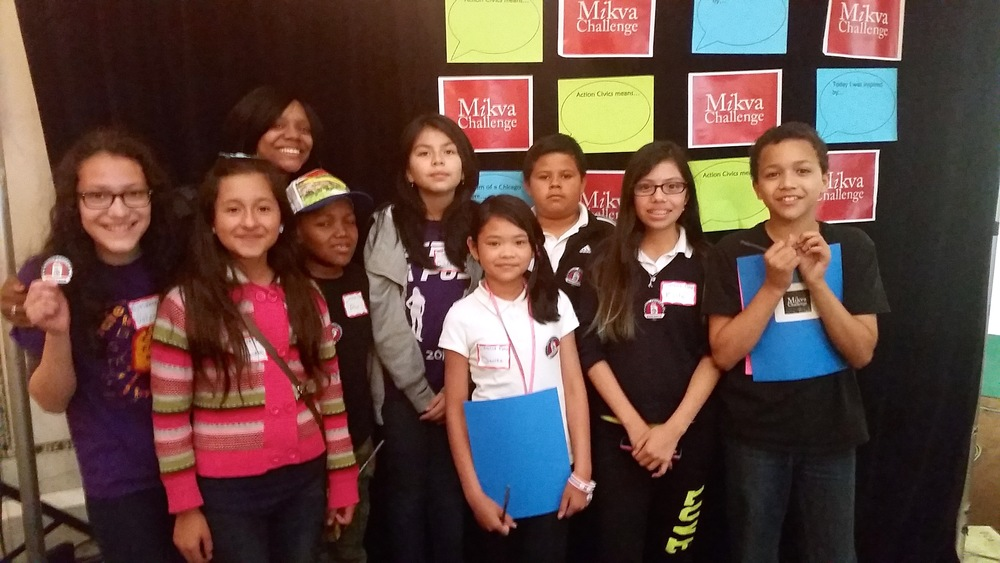 Citizens Now students participate in Mikva Challenge's Action Civics Fair
