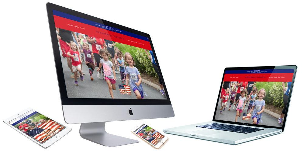 Non Profit Website Design Charlottesville VA CVILLE ParadeRest VA.jpg