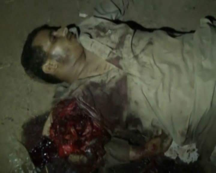 Souk Muthalith Ahim Massacre 5 July 2015