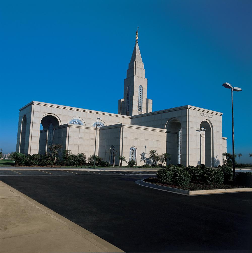 LDS Temple.  Campinas, Brasil.