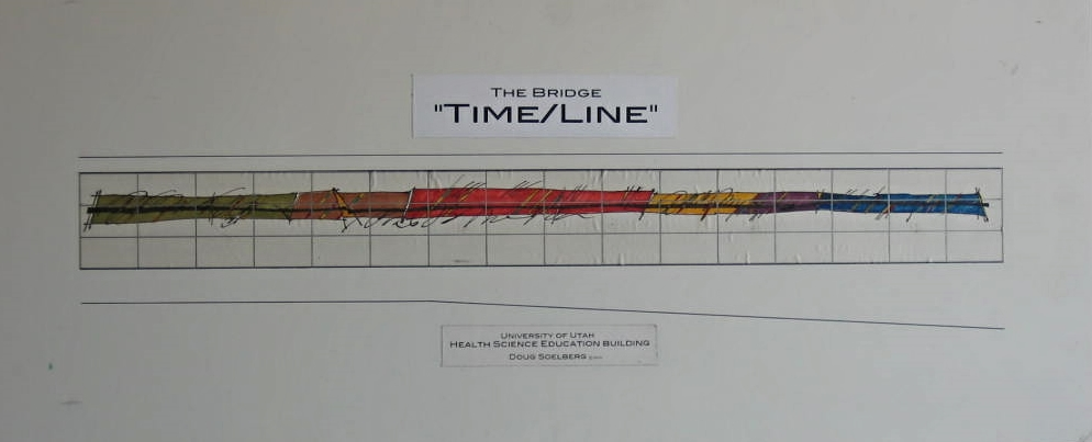 """Time/Line"".  University of Utah Medical School."