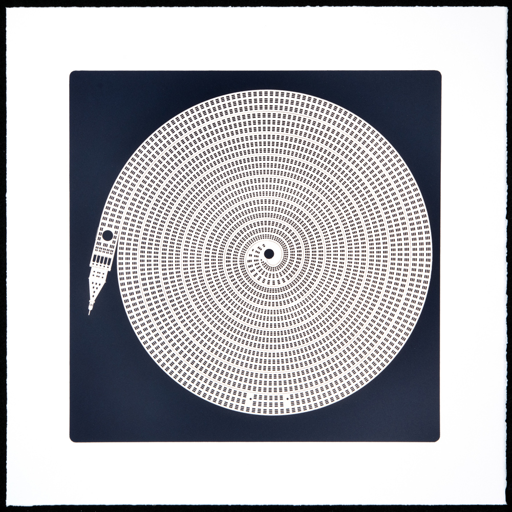 Alexandre Arrechea,  NOLIMITS , 2013 Portfolio of 10 photolithographs with aluminum dusting Case: 24 x 24 x 1-1/2 inches