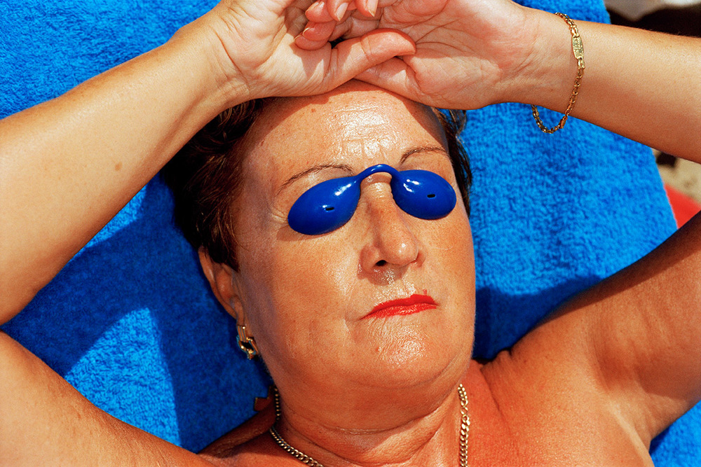 Benidorm, Spain, 1997. From the series   Common Sense  . © Martin Parr
