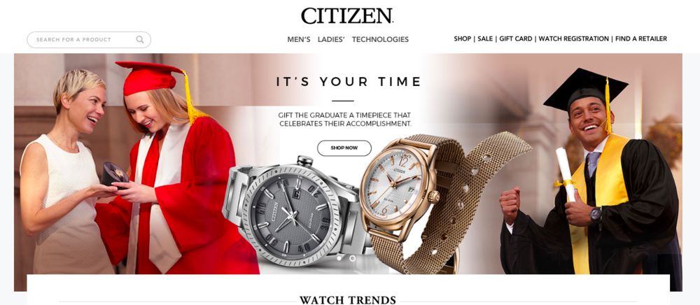 CITIZEN Watch, Digital media and in store display, with Nevada Lynn. Photography by Christopher Kolk. Produced by The CSI Group