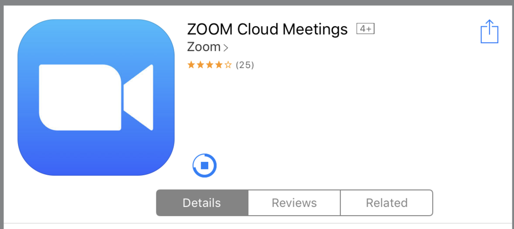 - Once you have the Zoom app installed, tap the zoom application icon on your iOS device to open Zoom.