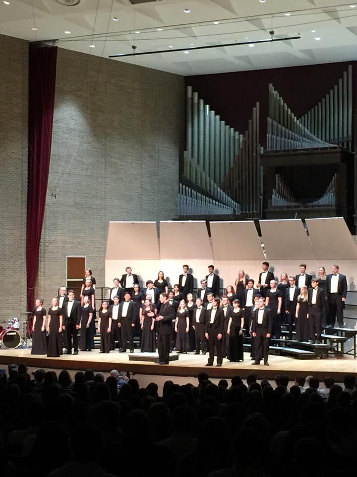 Chamber Choir - Pops Concert, 2018