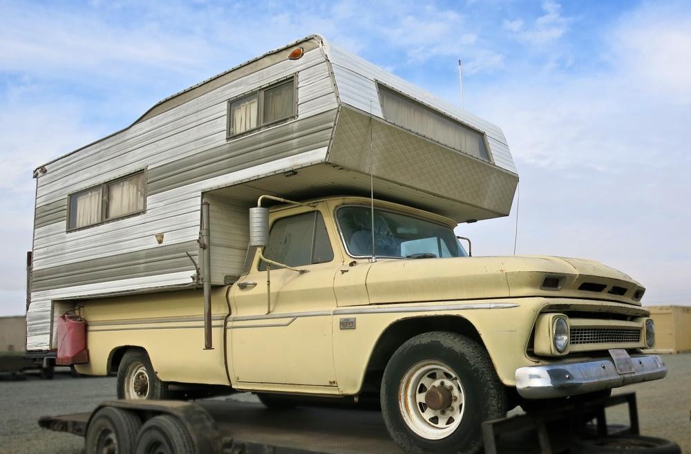 Vintage Camper 60s 3666