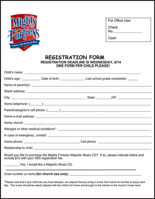 Vbs introduction letter and registration form for parentsguardians vbs2017registrationformg thecheapjerseys Images