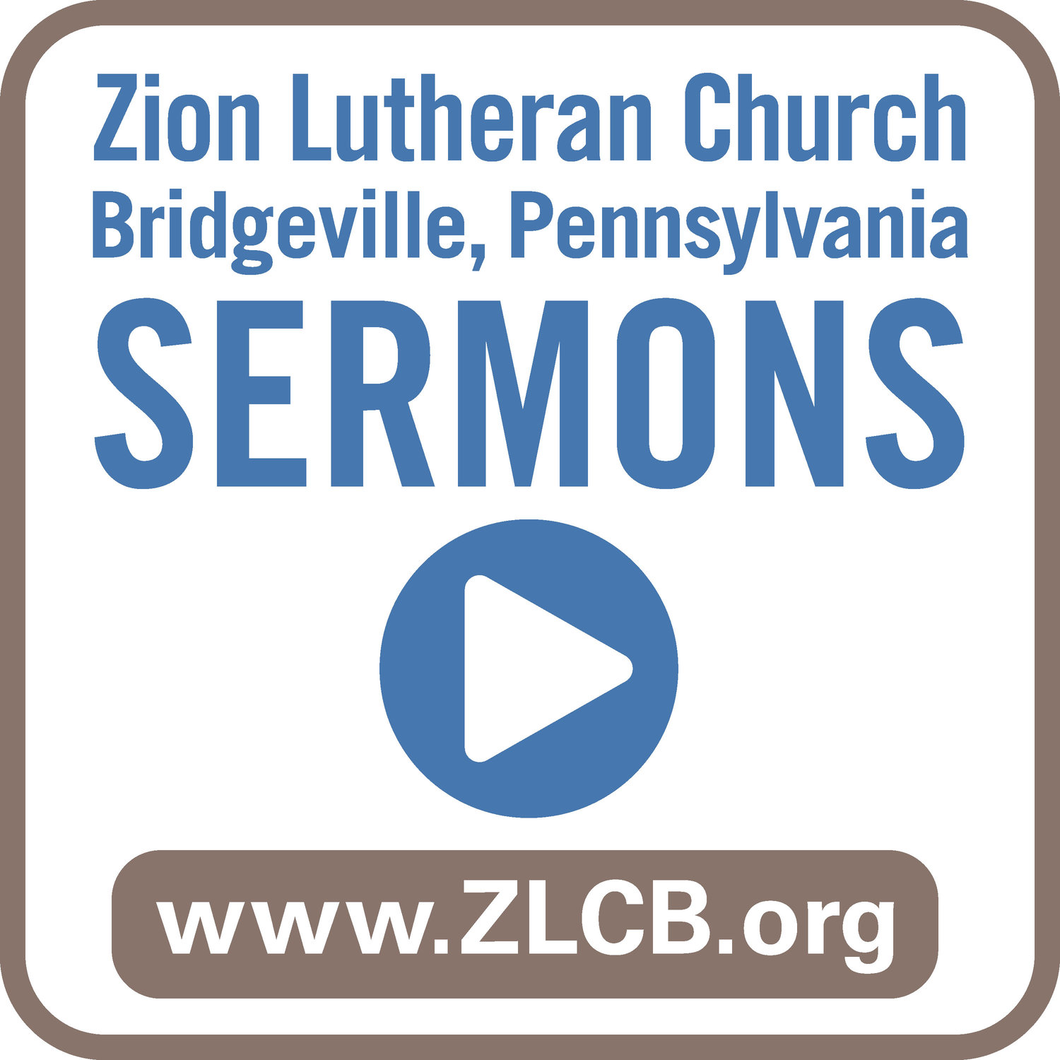 Sermons — Zion Lutheran Church