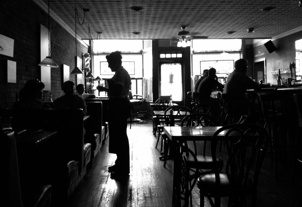 Sunday Cafe. Shot with iPhone 4.