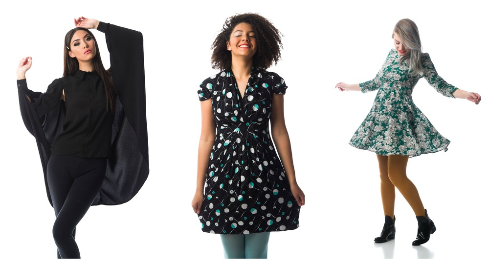 Quaintrelle Top; Thistle Dress; Linnea Dress