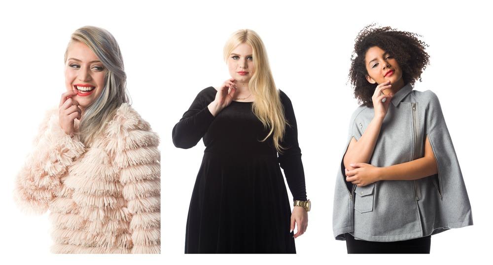 Margot Sweater; Nicolette Dress; Moped Moto Cape