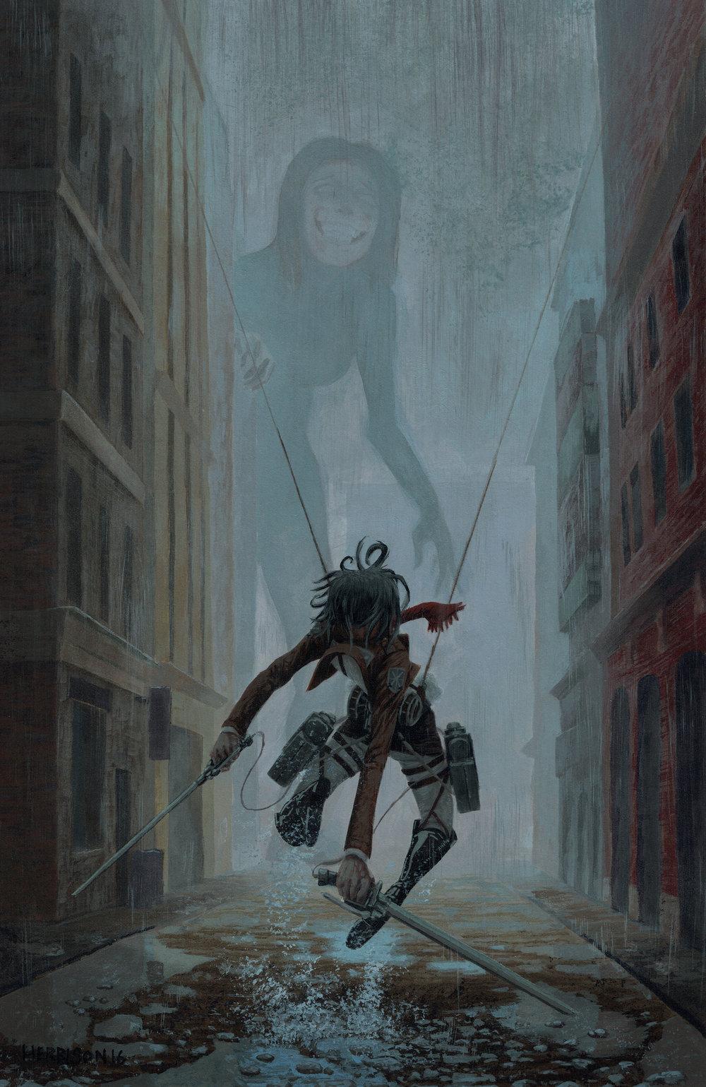 MARCELLA: Attack on titan mikasa