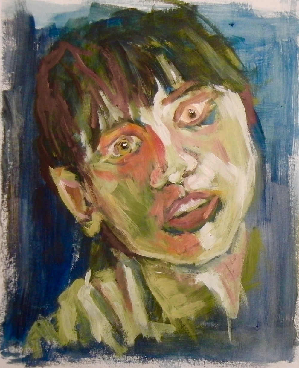 Portrait, Acrylic.
