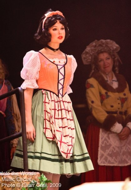 Into The Woods  at Sacramento Music Circus- loved this costume.
