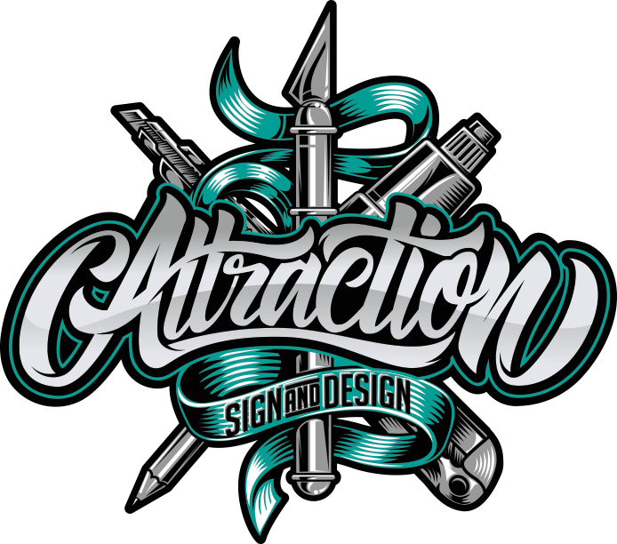 Attraction Sign and Design