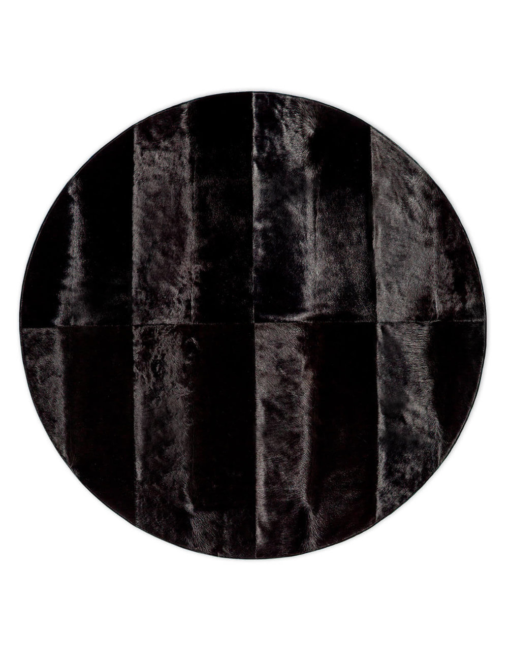 OAK ROUND  IN BLACK