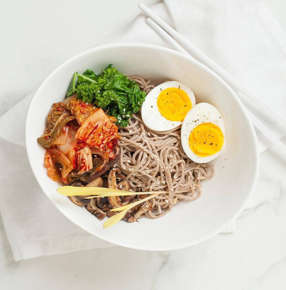 Soba Noodle Bowl -