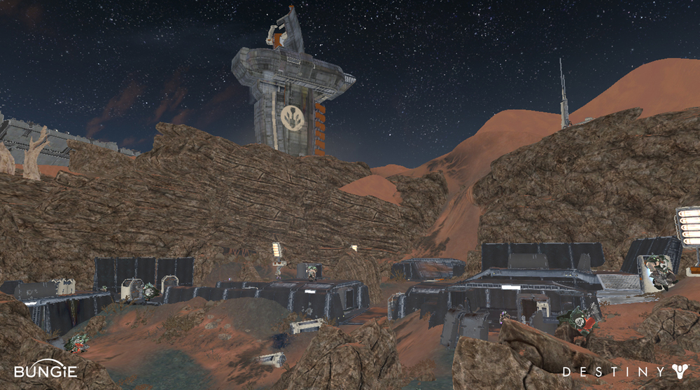 Mars // Meridian Bay // Firebase Rubicon
