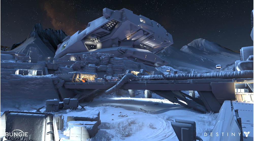 Mars // Meridian Bay // The Legion's Keep