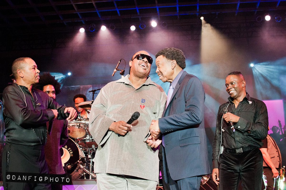 Stevie Wonder and Earth, Wind and Fire