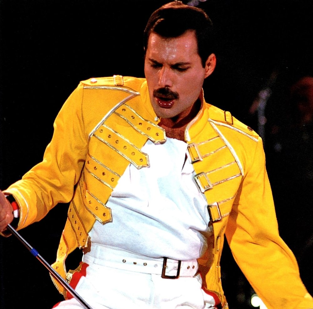Freddie: 'I want it all, and I want it now….'