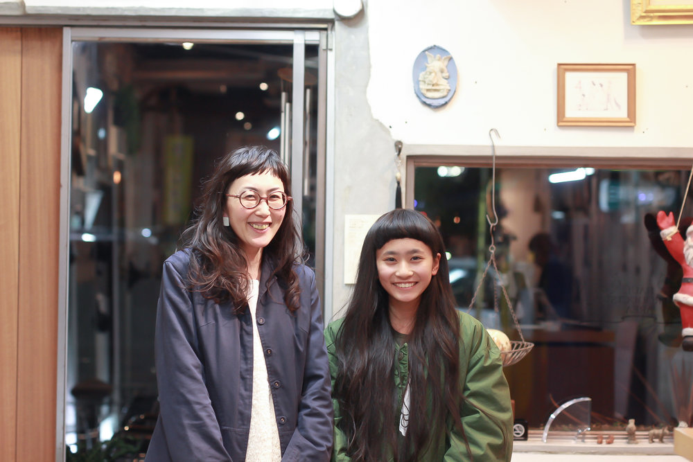 Nizineちゃんもお母様も以前はマッシュスタイルでしたが、すっかりLongになりました☆