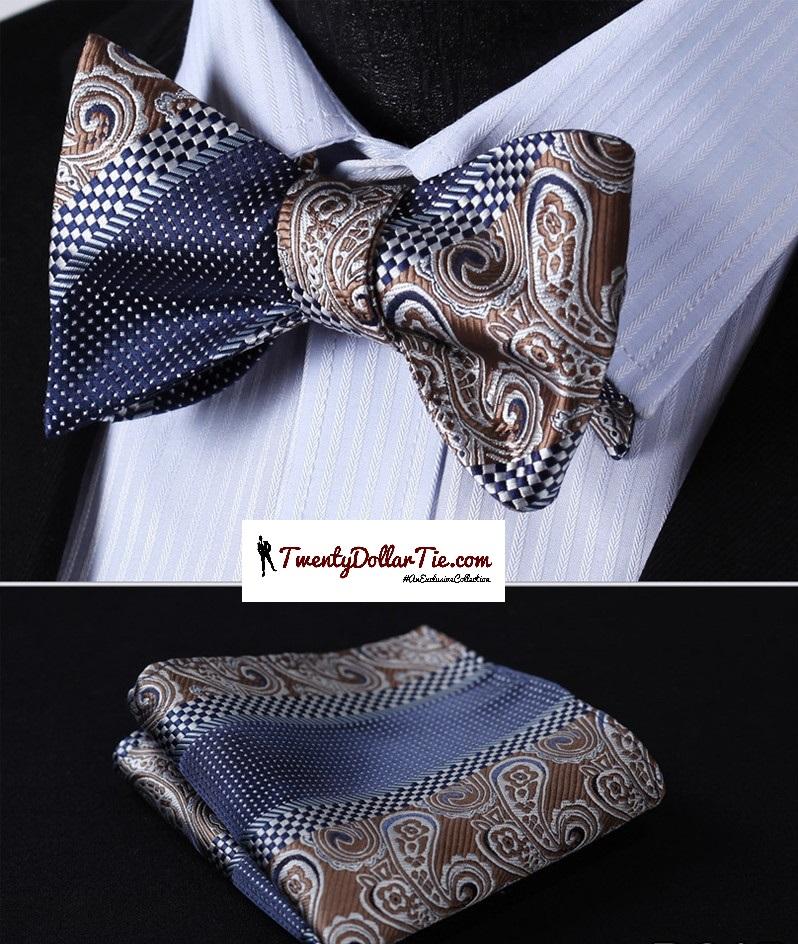Bold Self Tie Bow Ties