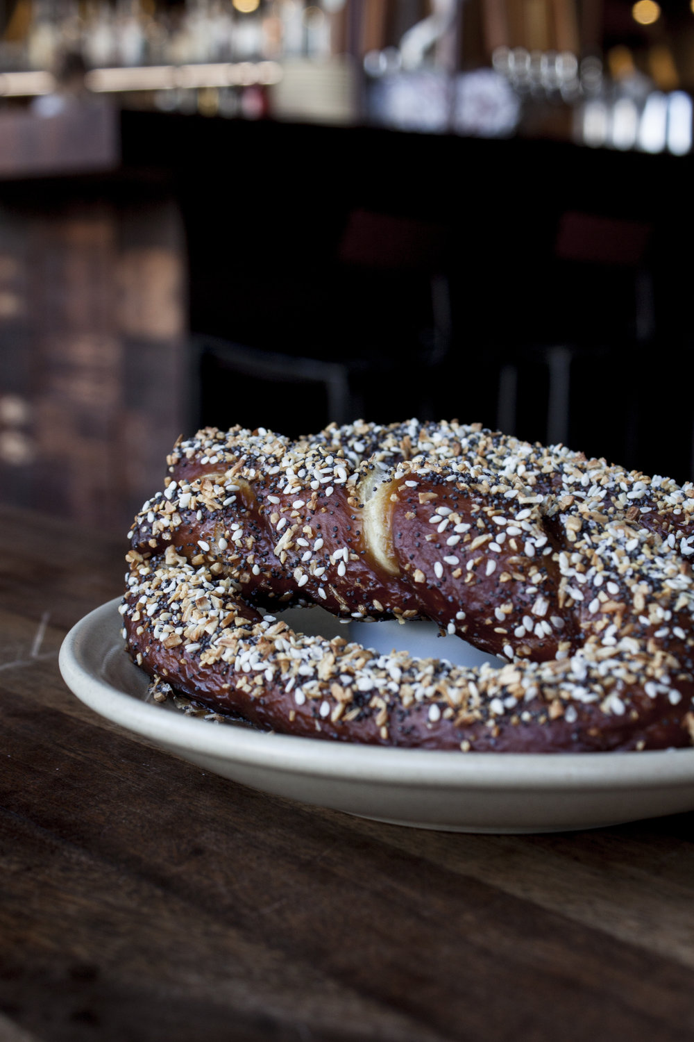 Everything Pretzel at The Cannibal