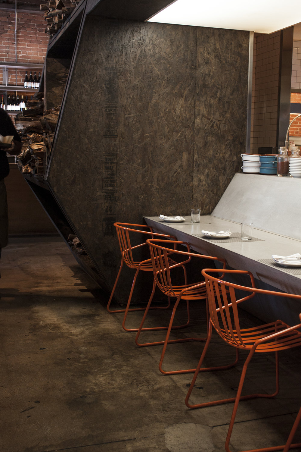Odys Penelope located in Mid City Los Angeles, is one of the coolest designed restaurants in LA. Odys + Penelope.