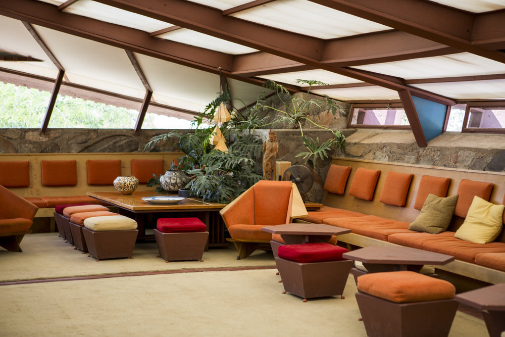 Frank Llyod Wright Taliesin West Scottsdale Arizona