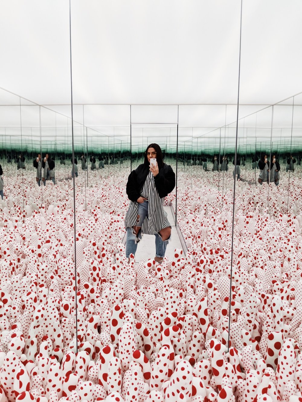 Yayoi Kusama at The Broad, Pixel 2 Camera