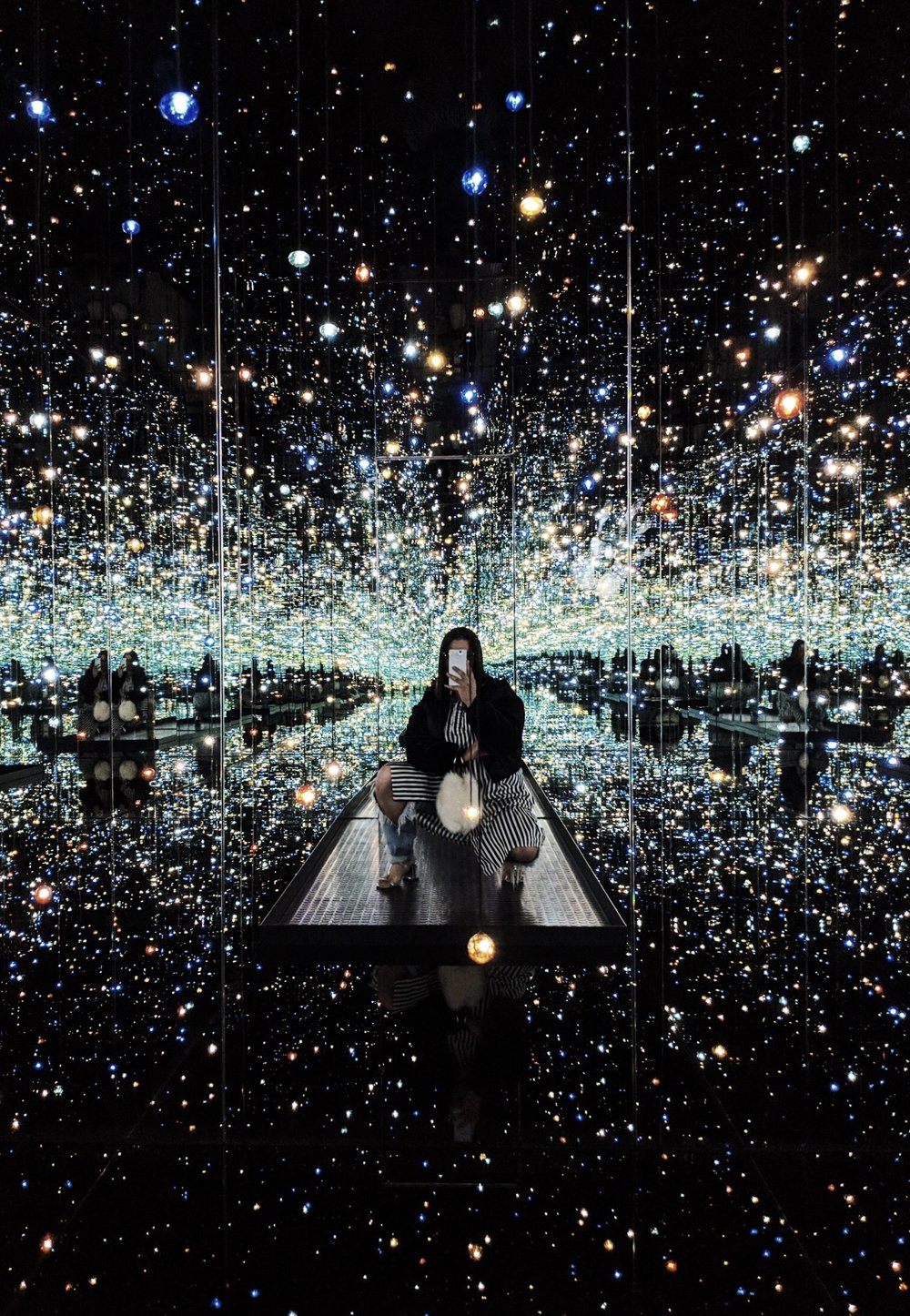 Yayoi Kusama at The Broad, Pixel 2 Camera Review