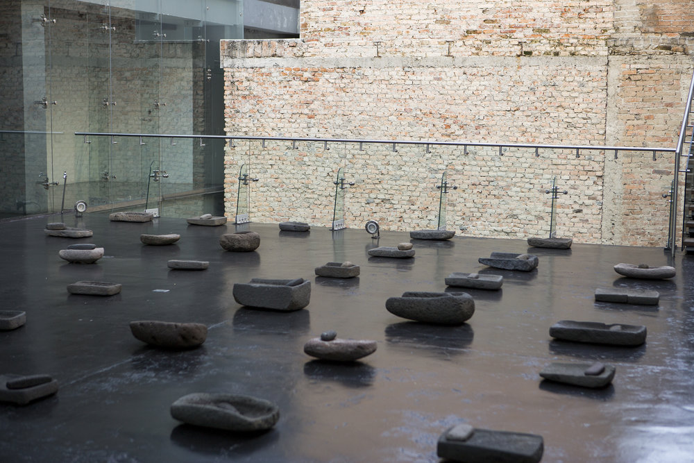Patio de las Huilanchas, art installation