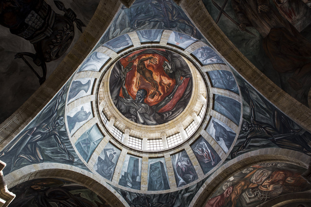 The Man on Fire, José Clemente Orozco