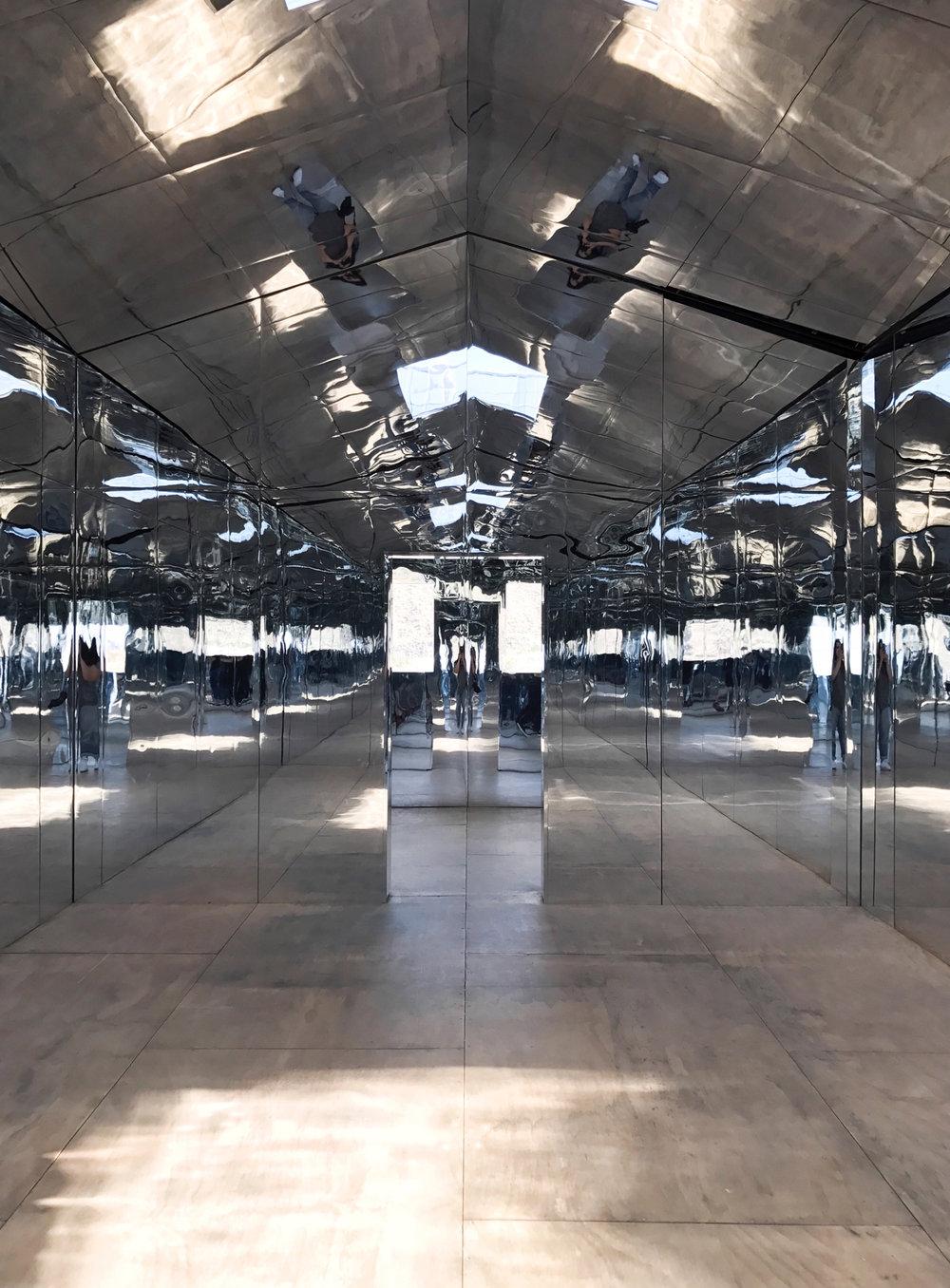 Inside   Doug Aitken's Mirage–Desert X