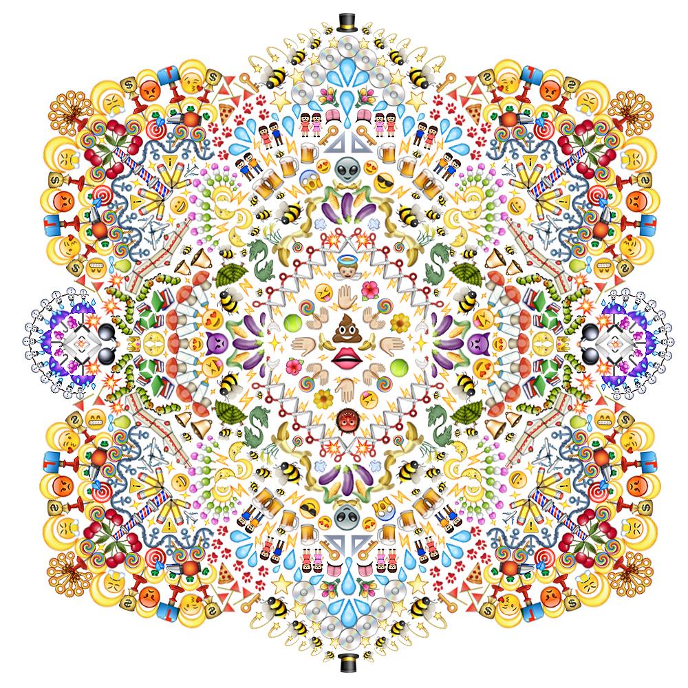 Emoji Mandala no. 1