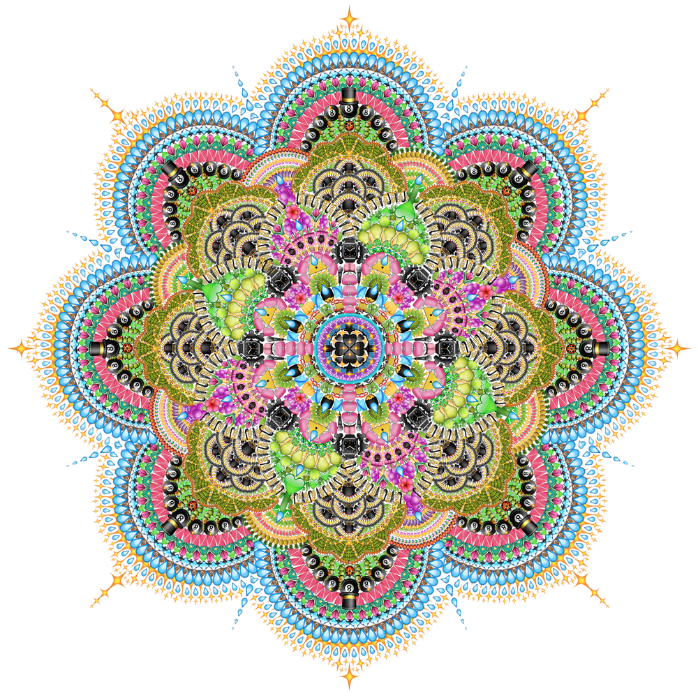Emoji Mandala no.7