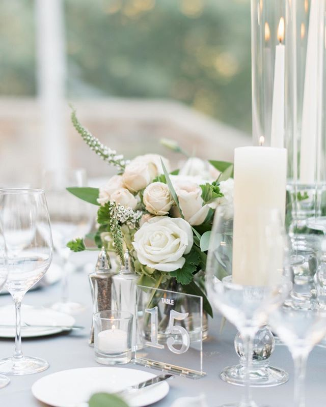 The first look into Puja and Tim's stunning dinner decor!