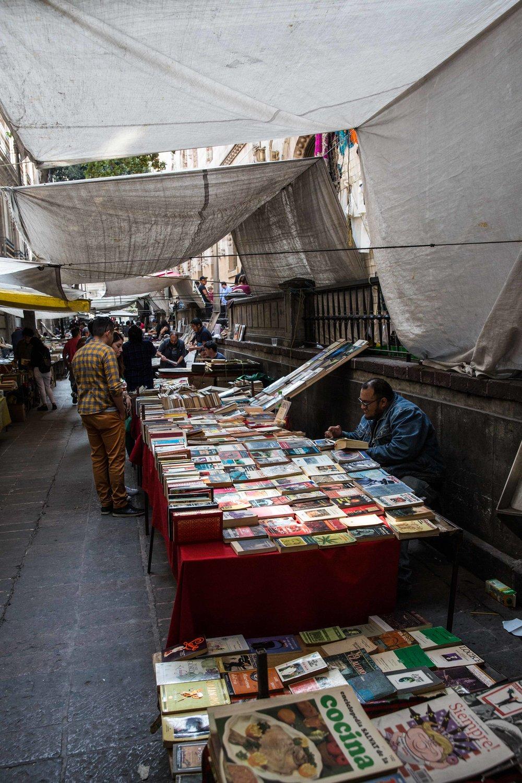 Street market, Mexico City
