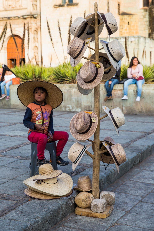 Street market, Oaxaca