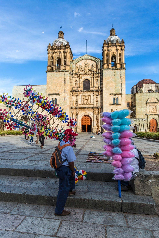 Zocalo, Oaxaca