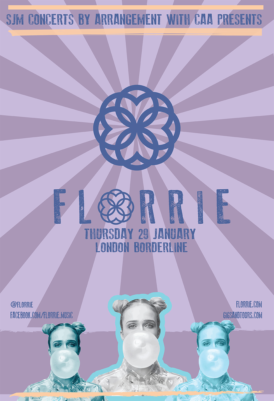 Florrie Tour Poster