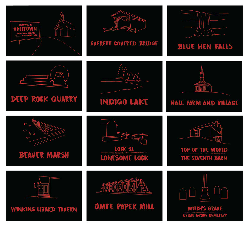 HellTown Postcards