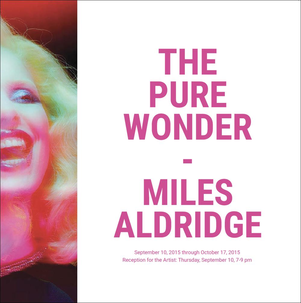 Miles Aldridge Exhibition Mockup