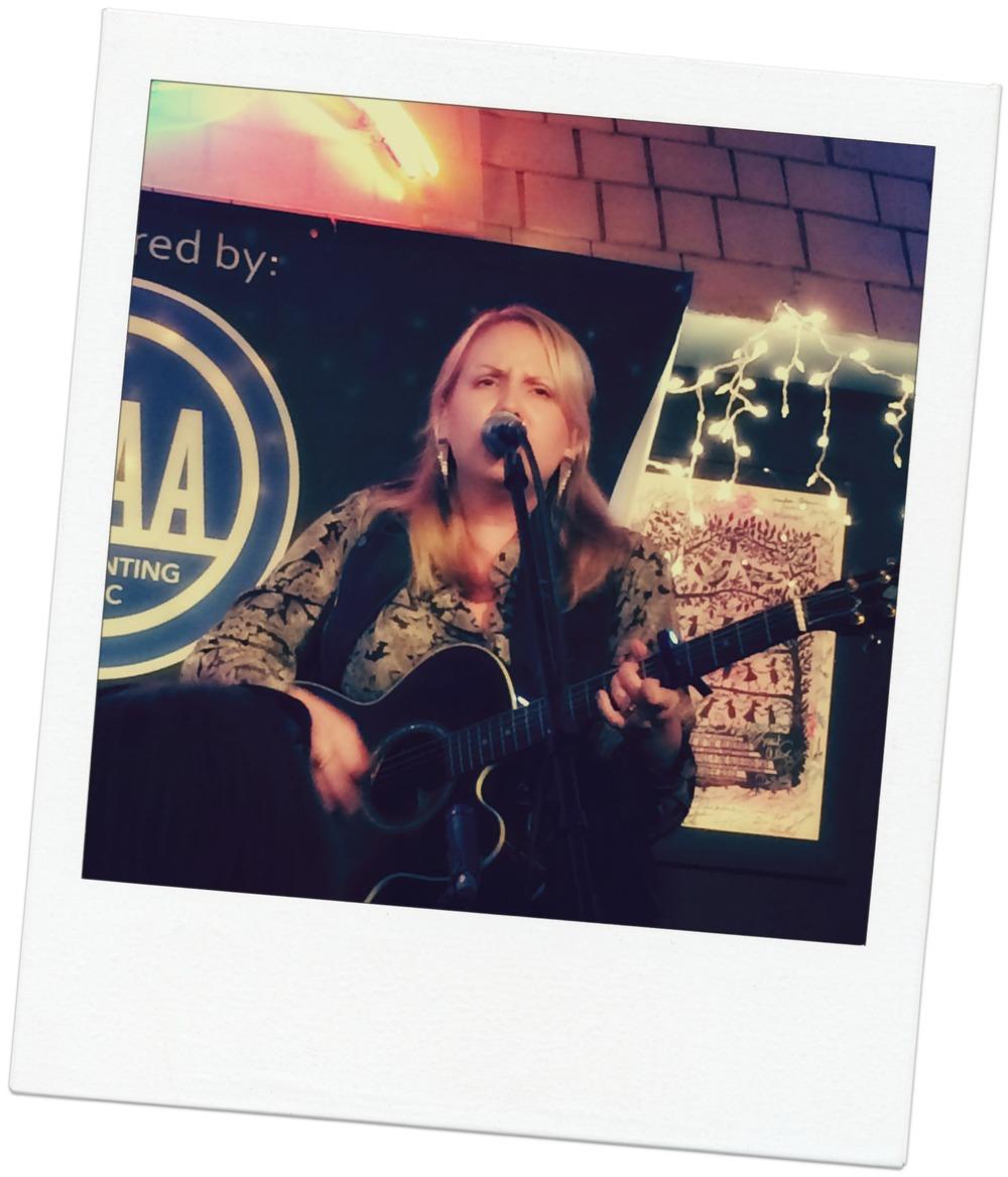 Mary Bragg at The Bluebird Cafe