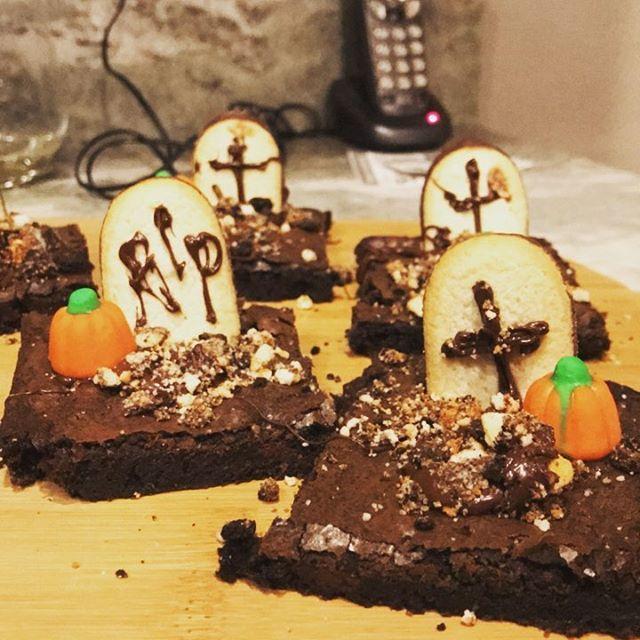 It's a brownie graveyard