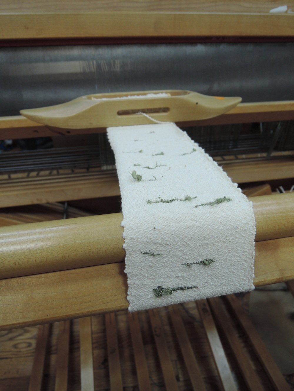 One last lichen weaving.