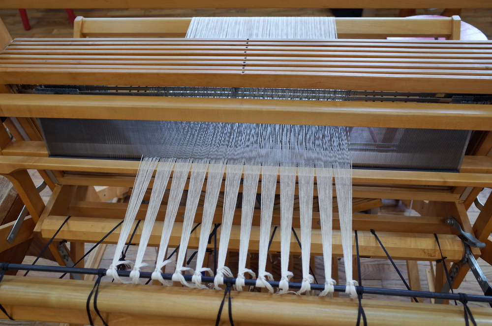 The loom is dressed so it's time to weave!